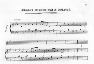 Johnny Is Gone for a Soldier. (1862) Sep. Winner, Philadelphia. [Notated Music] Retrieved from the Library of Congress, https://www.loc.gov/item/ihas.200001462.
